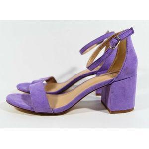 A New Day Michaela Lilac Block Pump Sandals Sz 6